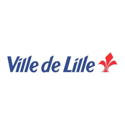Logo de la ville de Lille partenaire de la SAS Creafi
